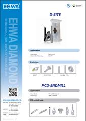 D-BITE , PCD-ENDMILL